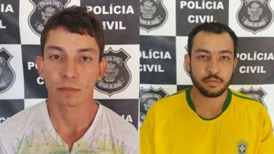 Além da morte do cunhado, Igor (à esquerda) vai responder pela posse do revólver. Christian (à direita) participou do crime que tirou a vida do marido da própria irmã