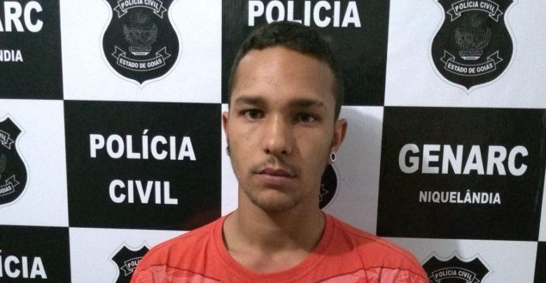 Genarc prendeu Tiago por tráfico depois de agressão a mulher e fuga com bebê (Foto: POLÍCIA CIVIL)