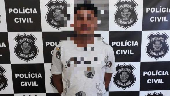 Niel e dois menores mataram o mecânico a pauladas (Foto: Divulgação Polícia Civil)
