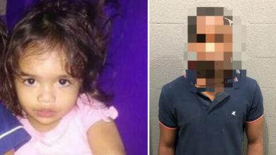 A pequena Amanda, de apenas três anos, foi assassinada e provavelmente estuprada por um menor de 15 anos, em Niquelândia (Fotos: Reprodução Internet/Amanda - Divulgação Polícia Civil/menor infrator. Montagem: Excelência Noticias)