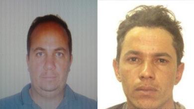 Márcio Luciano (esquerda) foi preso após intensa investigação da Polícia Civil, Carlos Eduardo está foragido.