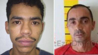 Cristiano, Cri-cri, (esquerda) estava foragido e é considerado extremamente perigoso. Gilberto Honório é de Minas Gerais e estava foragido (Fonte: Polícia Militar)