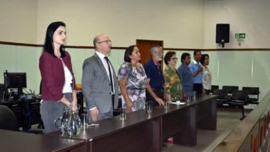 Representantes das instituições parceiras do projeto (Foto: Elaine Alves)