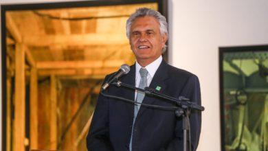 LIDERANÇA - O governador Ronaldo Caiado que, com a popularidade aferida pela consultoria, encontra ainda mais fôlego para realizações que evidenciam Goiás agora no caminho certo