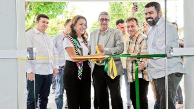 HOME BASE - Primeira-dama do Estado, Gracinha Caiado, presidente do Gabinete de Políticas Sociais (GPS), participa da inauguração da sede administrativa e alojamento da empresa