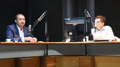 O presidente do Detran-GO, Marcos Roberto Silva, concede entrevista ao ao radiojornal O Mundo em sua Casa, das rádios Brasil Central AM e RBC FM e anuncia novidades da autarquia para os condutores goianos [Silvano Nascimento/Agência Brasil Central]