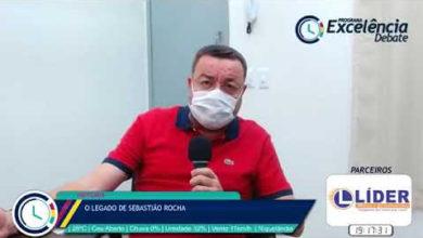 "Márcio Rocha abrilhanta segunda ""live"" do Programa Excelência Debate"