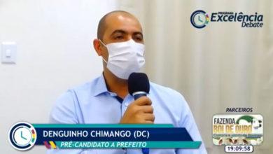 Denguinho Chimango entrevistado na live do Portal Excelência Notícias