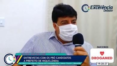 Erlandio da Gamboa, pré-candidato a prefeito de Niquelândia pelo MDB