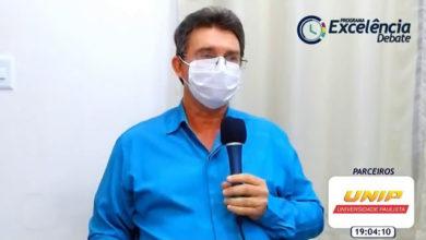 """Evaldo Rincon na """"Live"""" do Portal Excelência Notícias"""