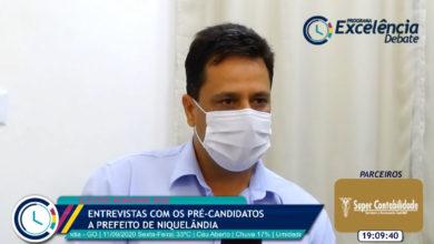 Sargento Nunes, pré-candidato a prefeito de Niquelândia